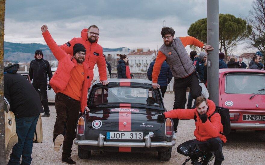 Pirmoji Monte Karlo istorinių automobilių ralio diena: lietuviai – 65-ti