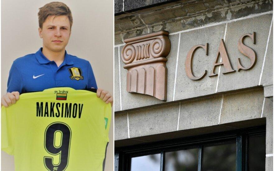 Maksimas Maksimovas, Tarptautinis sporto arbitražo teismas / Foto: fkt.lt, AFP-Scanpix