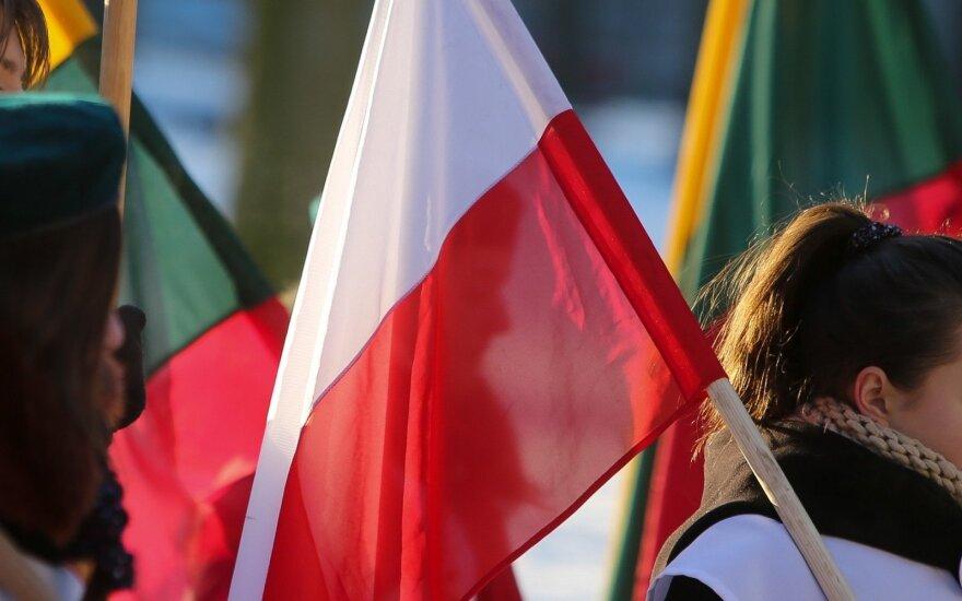 Lithuanian Polish flags