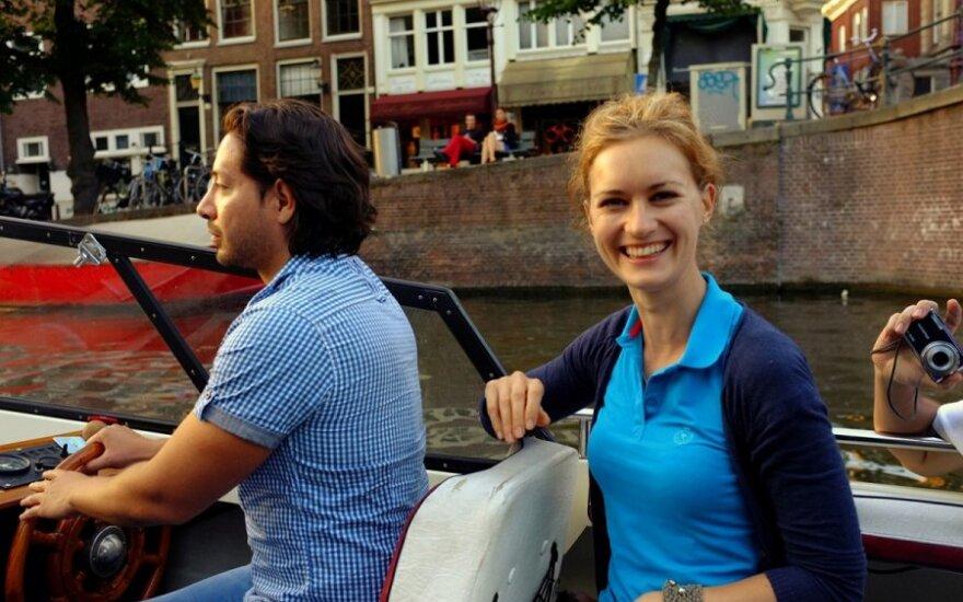 Inga Kaupelytė su vyru Gerardu