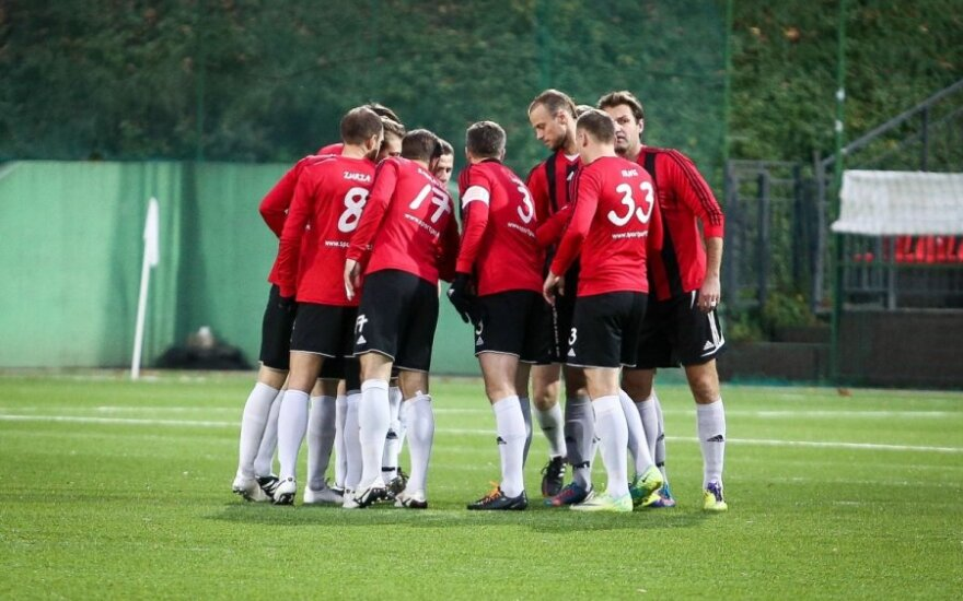 """""""Prelegentai"""" pralaimėjo LFF taurės turnyro ketvirtfinalio pirmose rungtynėse"""