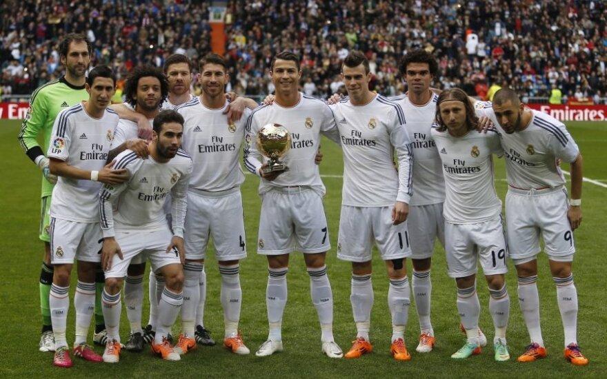Cristiano Ronaldo pademonstravo geriausio pasaulio žaidėjo prizą