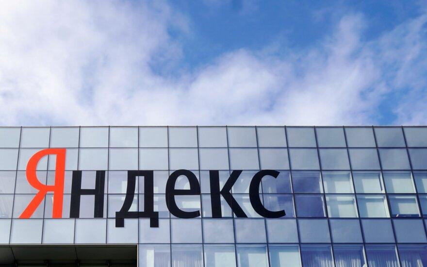 """Ginkluoti asmenys paliko """"Yandex"""" biurą Minske. Kas tai buvo – neaišku"""