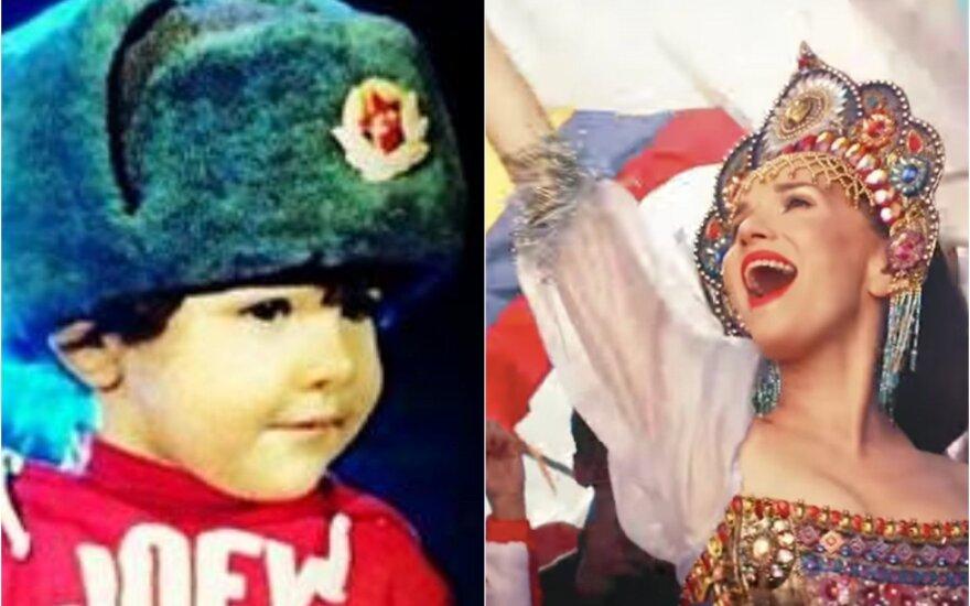 Natalia Oreiro su sūnumi