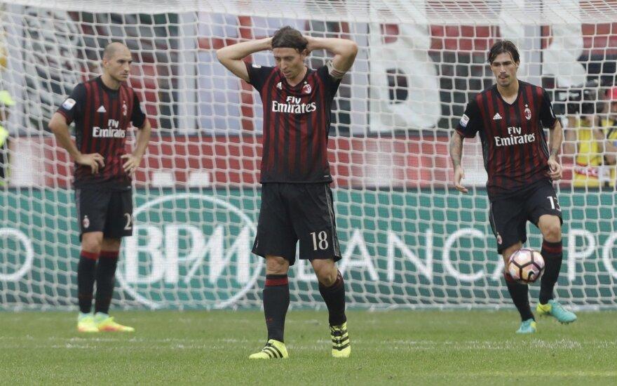 """Milan"" futbolininkai"