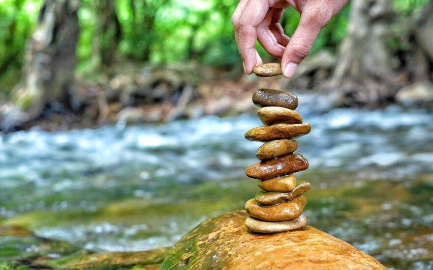 Štai laiptai į sėkmę, bet užlipti reikės patiems