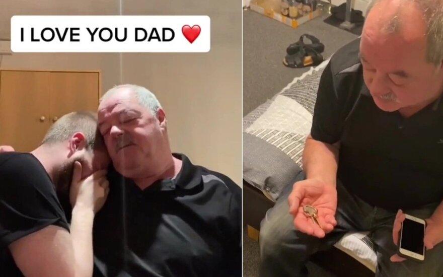 Jamie Nylandas ir jo tėtis