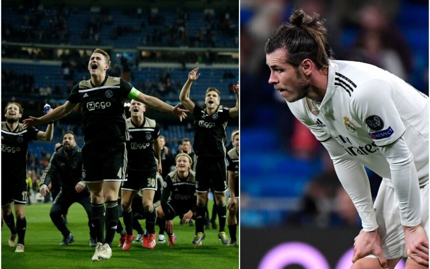 "Amsterdamo ""Ajax"", Garethas Bale'as"