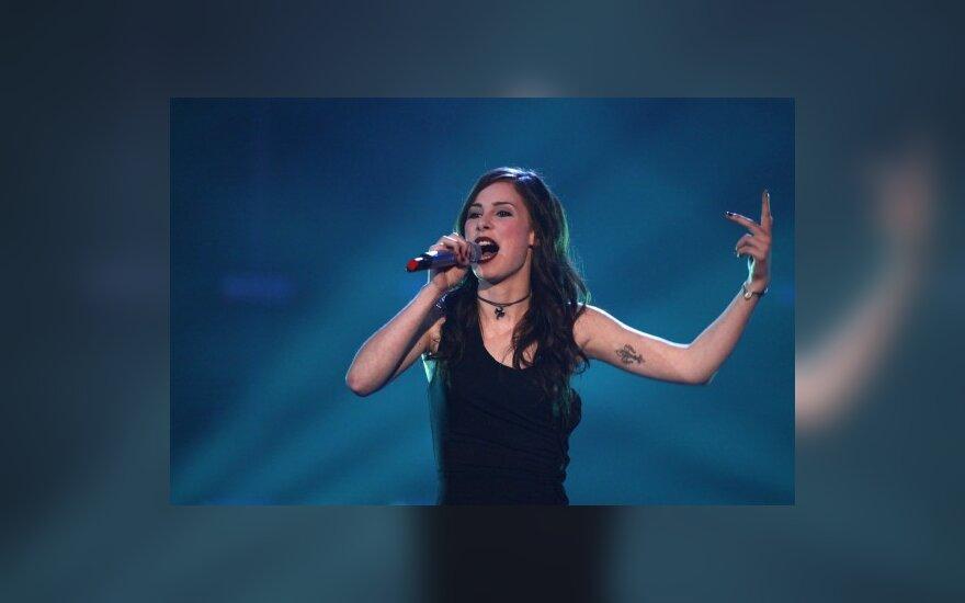 """""""Eurovizijos"""" nugalėtoją kaltina plagijavimu"""