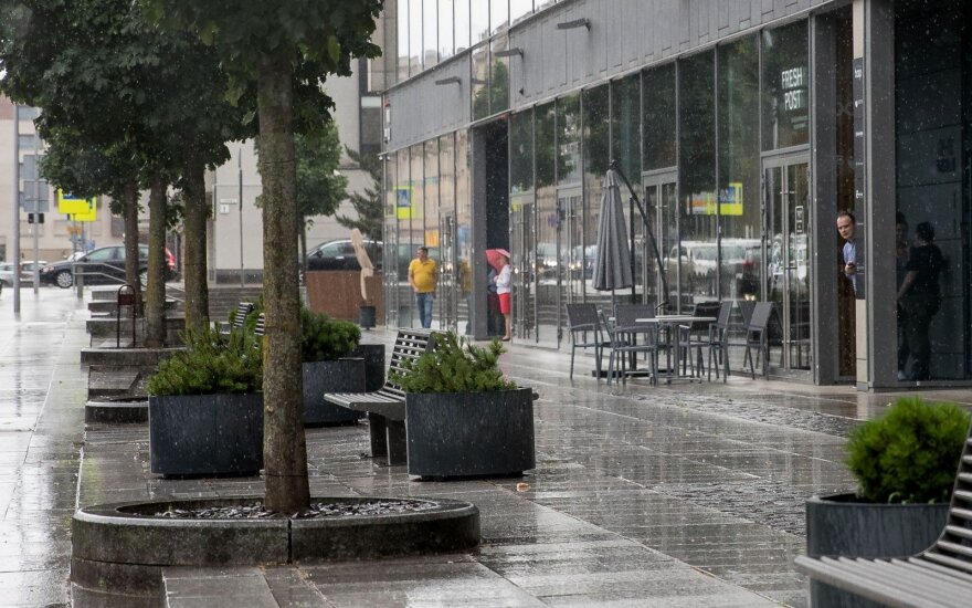 Orai: dar bus visko – ir lietaus, ir vasariškos šilumos