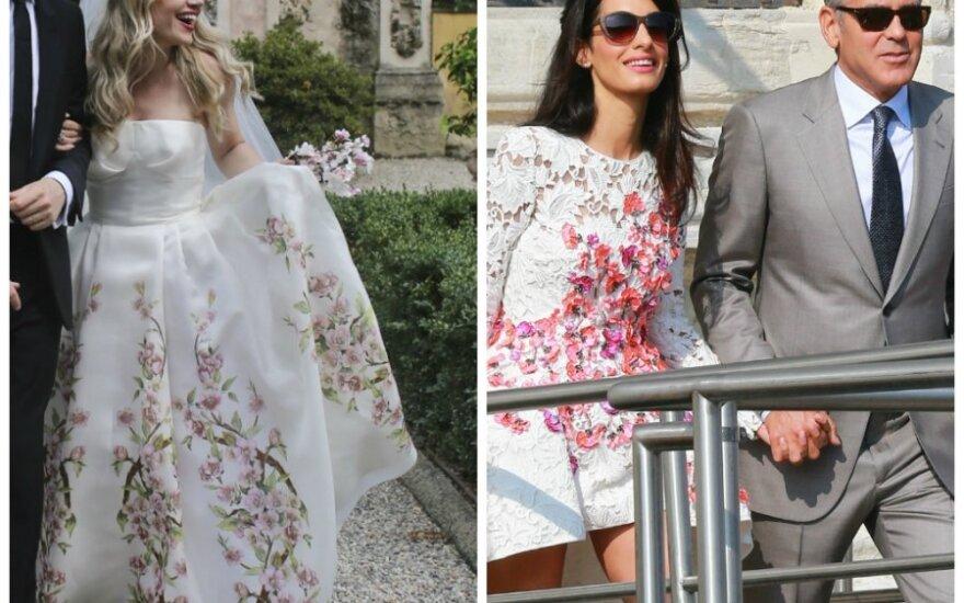 L. Dzelzytės ir George'o Clooney, Amal Alamuddin vestuvės