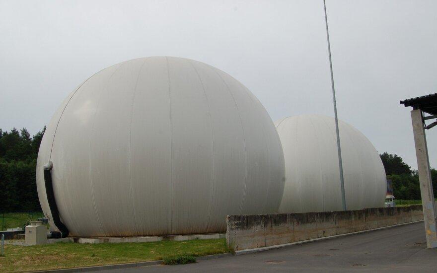Gamtinių dujų talpyklos