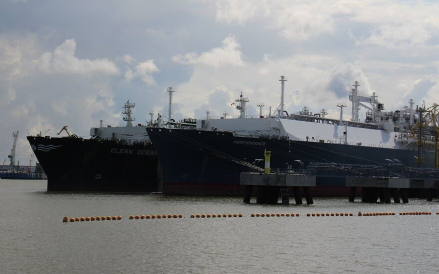"""Į Klaipėdą plaukia naujas """"Equinor"""" dujų krovinys"""