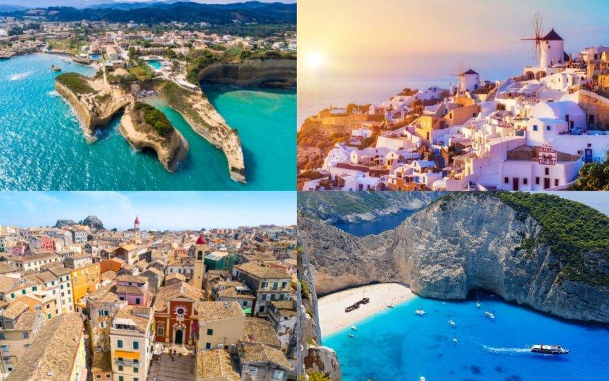 Graikijos salų gidas: skrydžių kainos – nuo 23 eurų, o savaitės trukmės poilsis viešbutyje šeimai – nuo 150