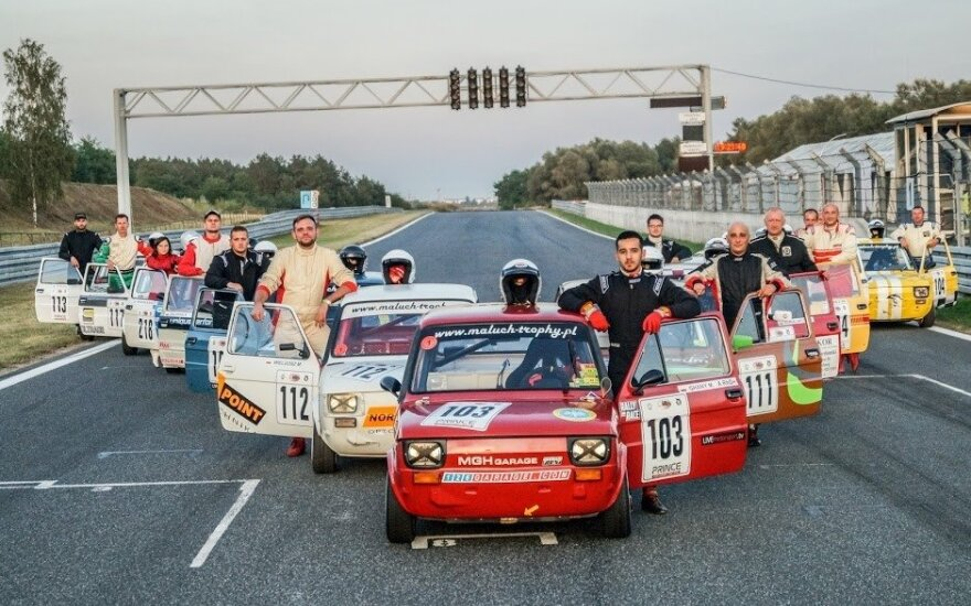 """""""Fast Lap"""" startuos kartu su Lenkijos čempionatu"""