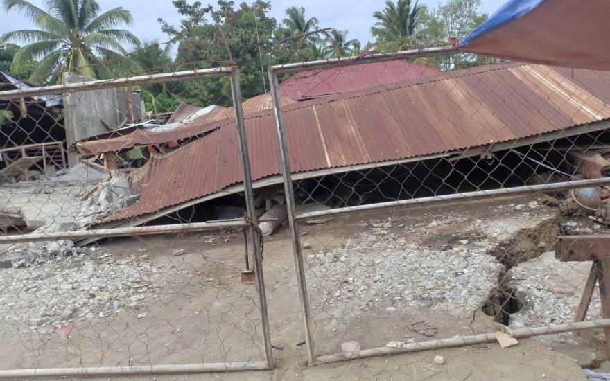 Žemės drebėjimas Filipinuose