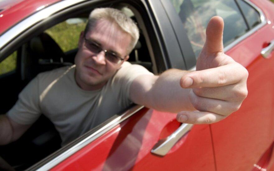 Nemandagus vairuotojas