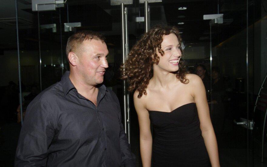 Valdas Burnys su dukra