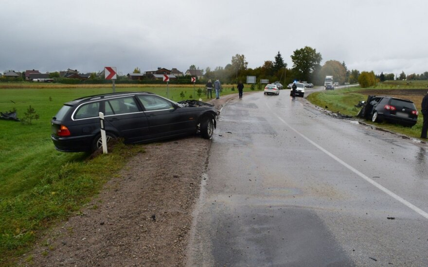 Avarija kelyje Alytus-Simnas-Kalvarija