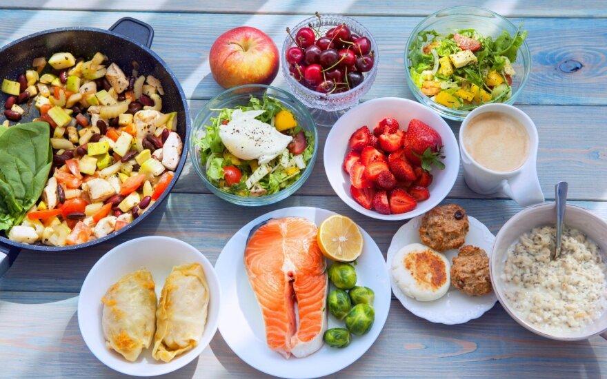 Sportuojant - jokių dietų: 5 svarbiausi mitybos elementai