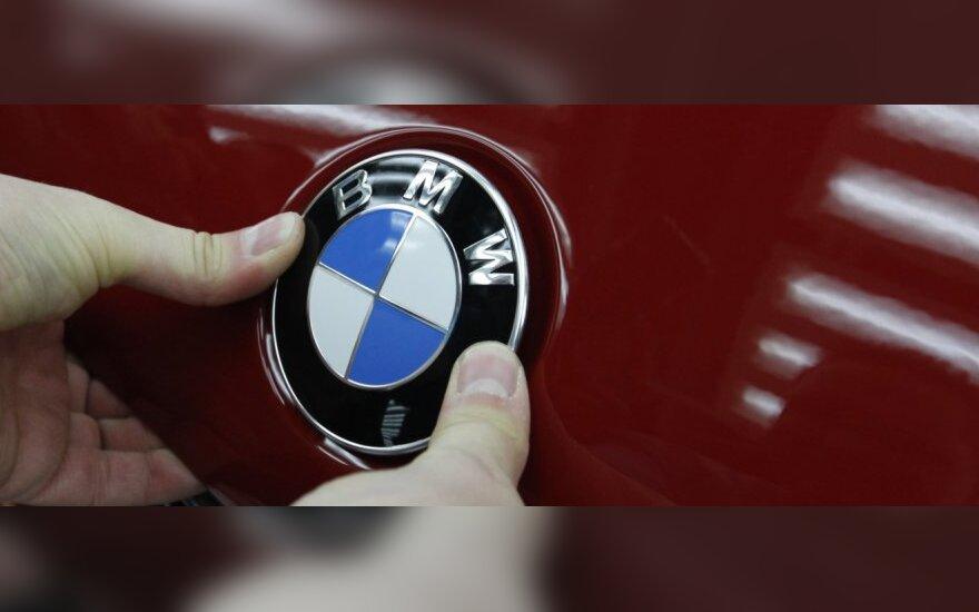 Naujų BMW populiarumas Lietuvoje pernai išaugo 12 proc.