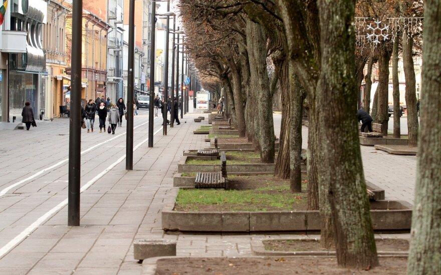 Kaunas į pėsčiųjų ir dviračių takų atnaujinimą investuos iki 19,5 mln. eurų