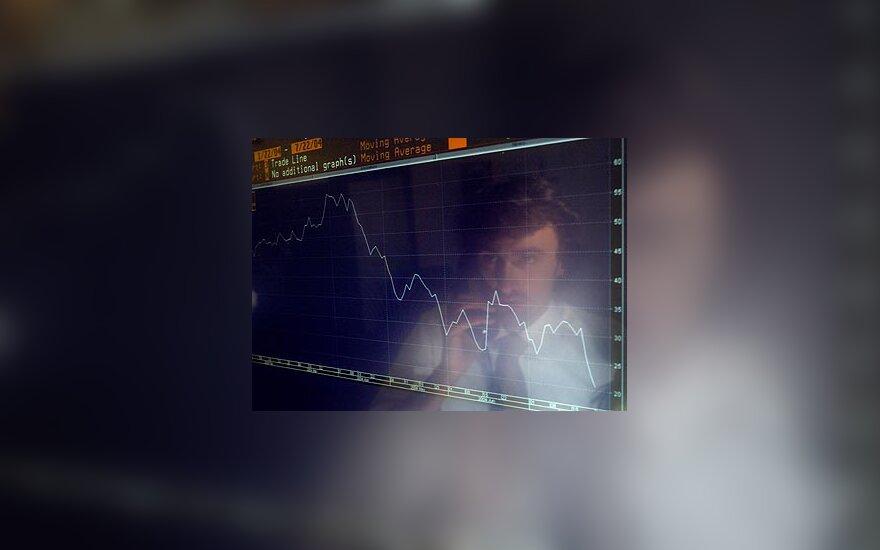 """Krenta """"Yukos"""" akcijų kursas"""