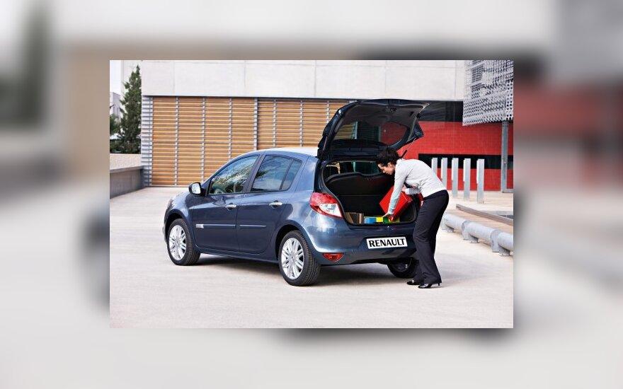 Kuro sąnaudos priklauso ir nuo automobilio apkrovimo