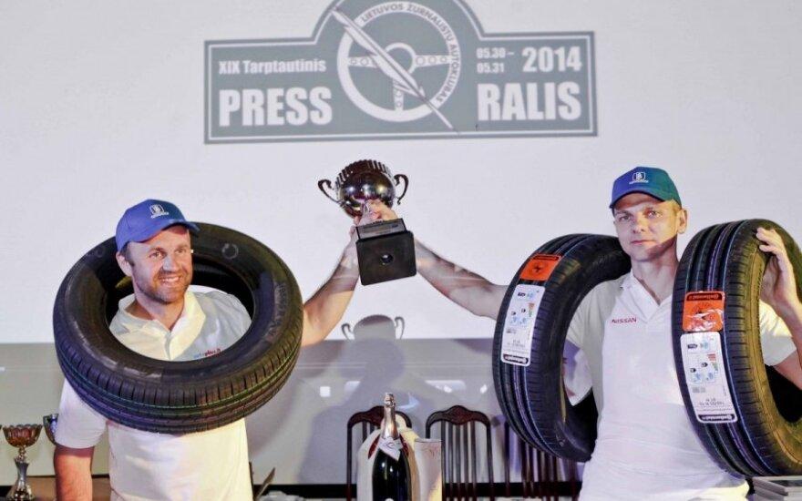 Press ralio nugalėtojų apdovanojimas