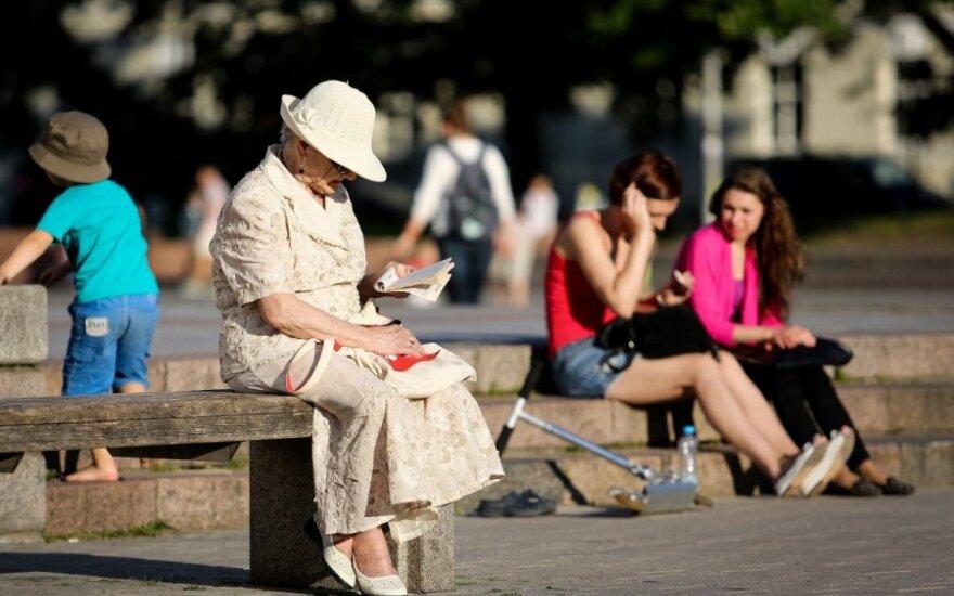 Kaip nustoti bijoti senatvės
