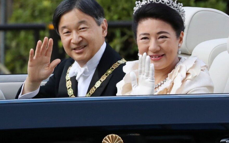 Imperatorius Naruhito ir Imperatorienė Masako