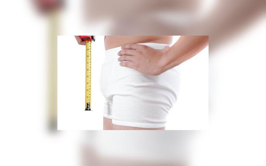 Kokio gi dydžio yra tas vidutinis penis?