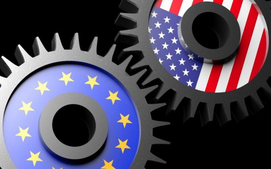 Nutekinta informacija: ES bijo dėl silpnesnių pozicijų derybose su JAV