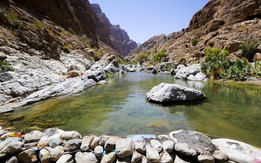 Rožių vanduo kalnuose, kur gyveno Habibas