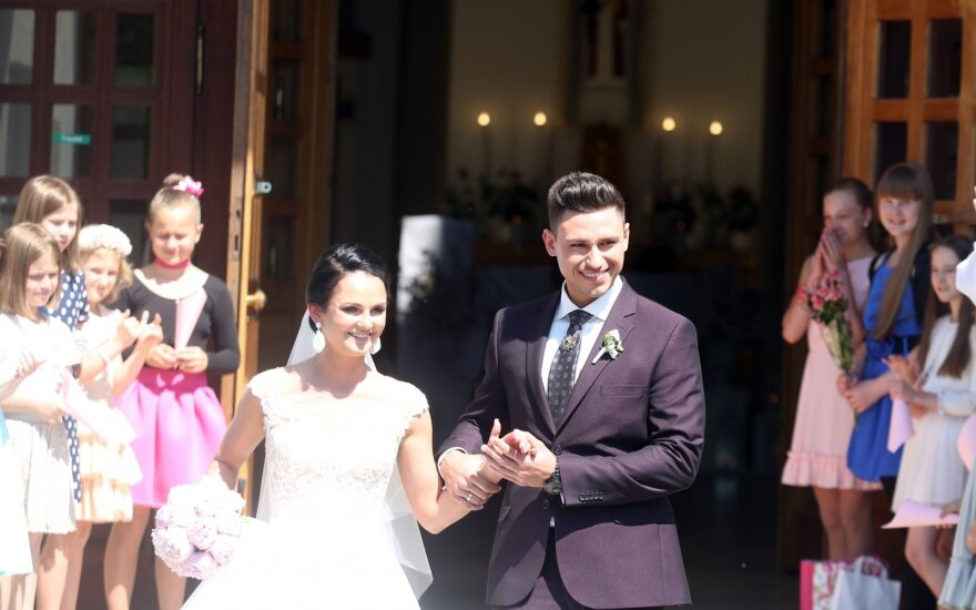 Roko Laurecko ir Aidos Rybako-Laureckės vestuvės