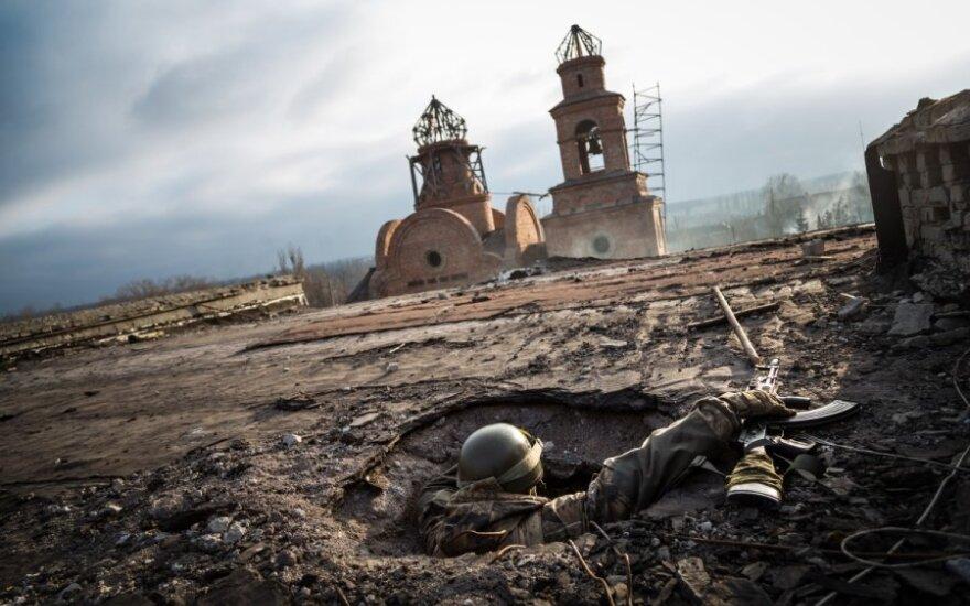 Ukraina fotografo A. Morozovo akimis