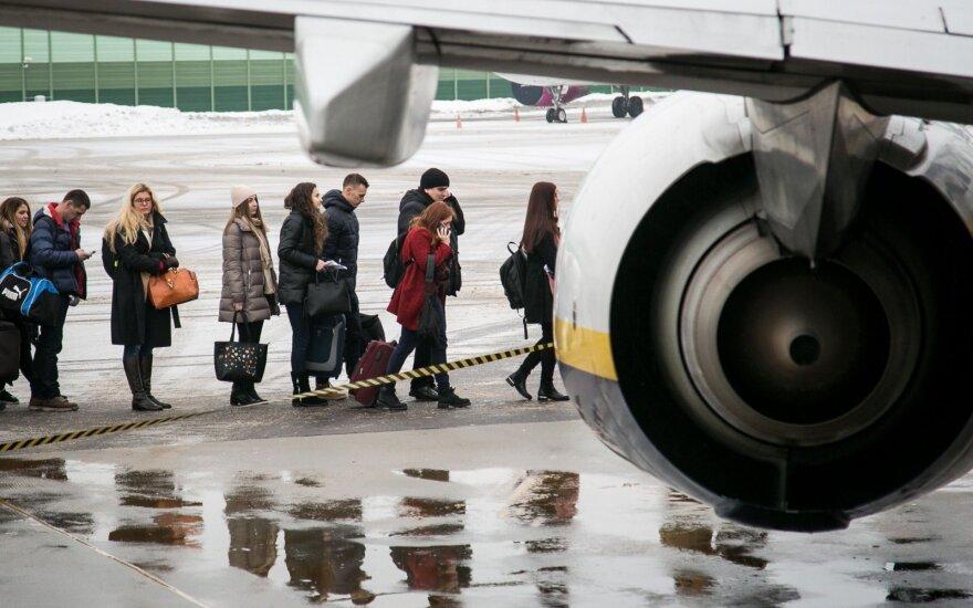 Sausį populiariausia skrydžiu kryptimi išliko Londonas