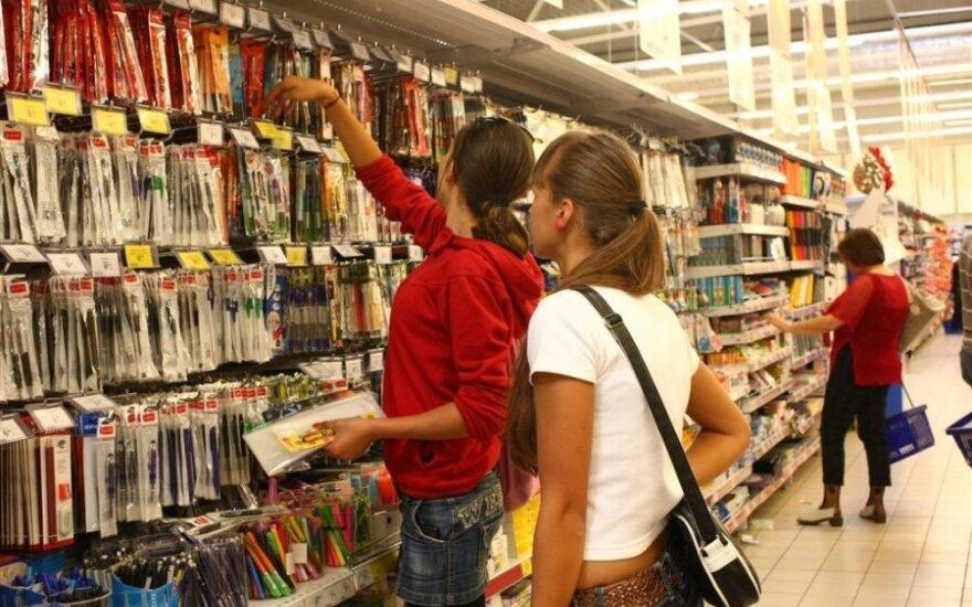 Mokyklinių prekių kainos: kokių tikėtis
