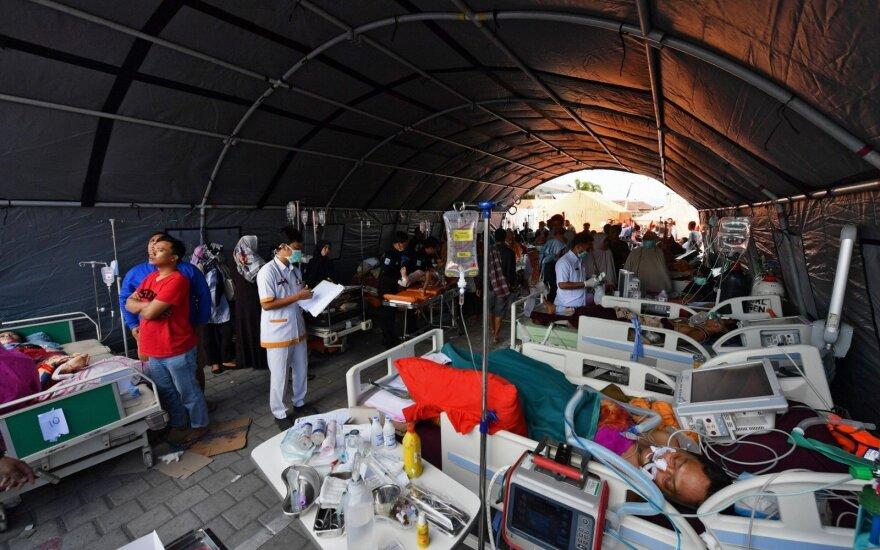 URM neturi duomenų apie per žemės drebėjimą Indonezijoje nukentėjusius lietuvius