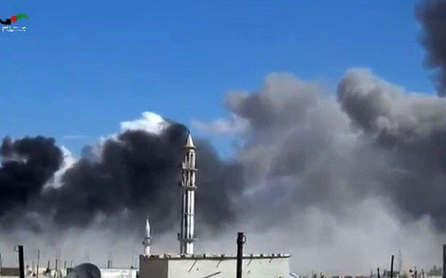 Rusija jau svarsto apie smūgius ne tik Sirijoje