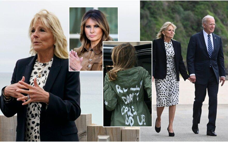 Jill Biden, Melania Trumo, Joe Bidenas / Foto: Scanpix, Shutterstock