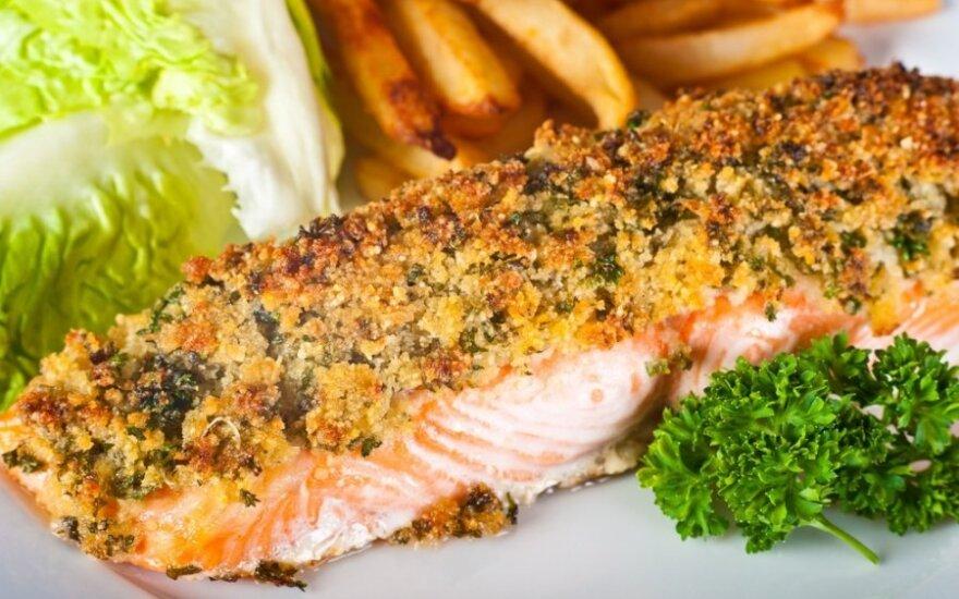 Dietologė: lietuviai suvartoja nepakankamą kiekį žuvies