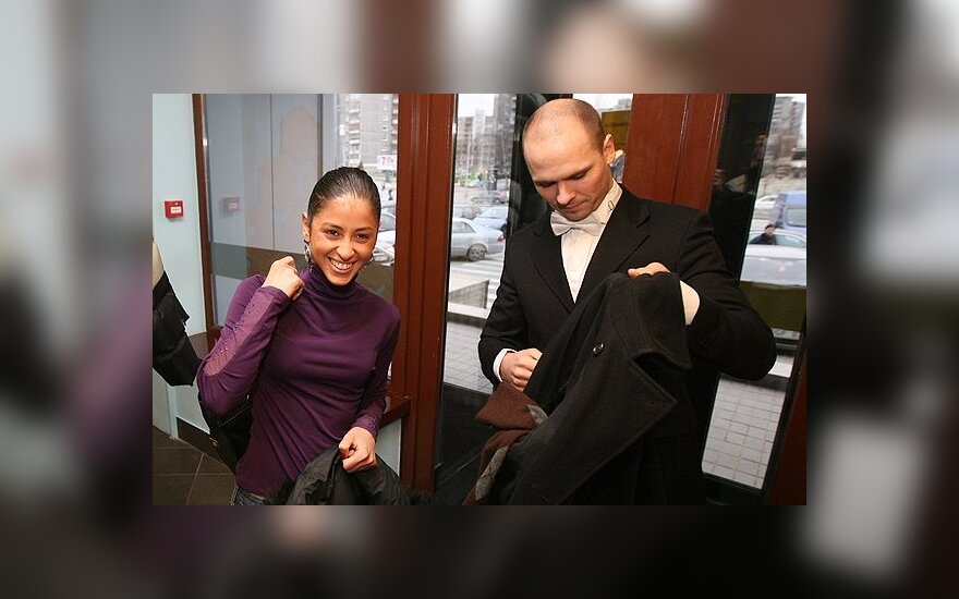 A. Bružas ir Š. Džaniašvili suka skirtingais keliais: skyrybų prašymas pasiekė teismą