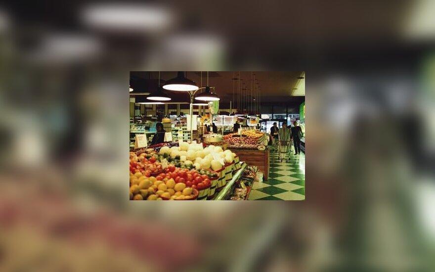 Daržovių parduotuvė, supermarket