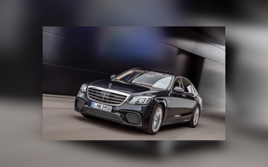 "Modernizuotas S klasės ""Mercedes-Benz"""