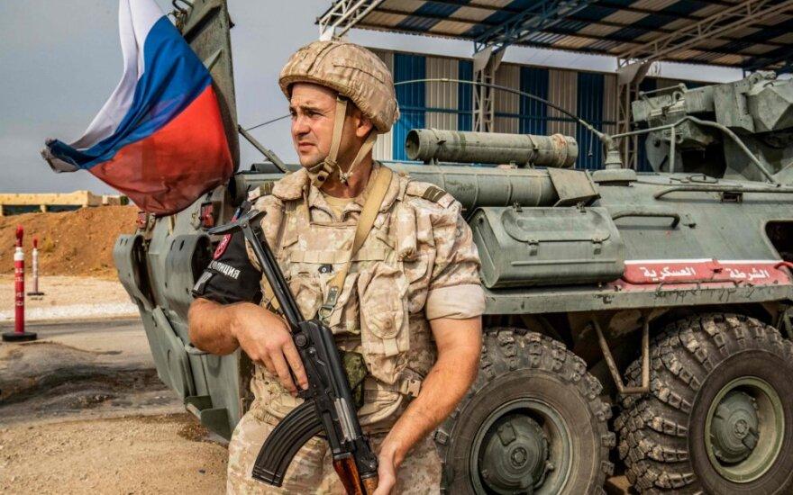 Rusų karo policininkas Sirijoje