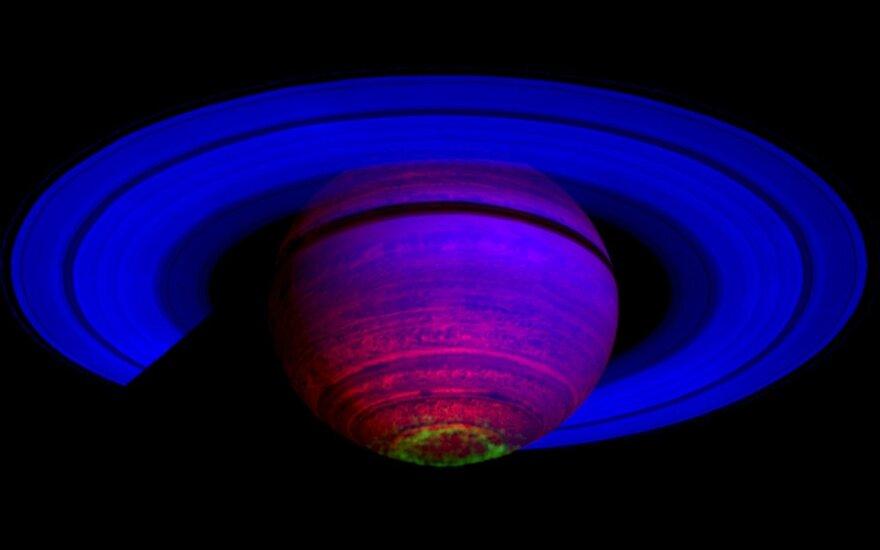 Cassini zondo misija, Saturnas