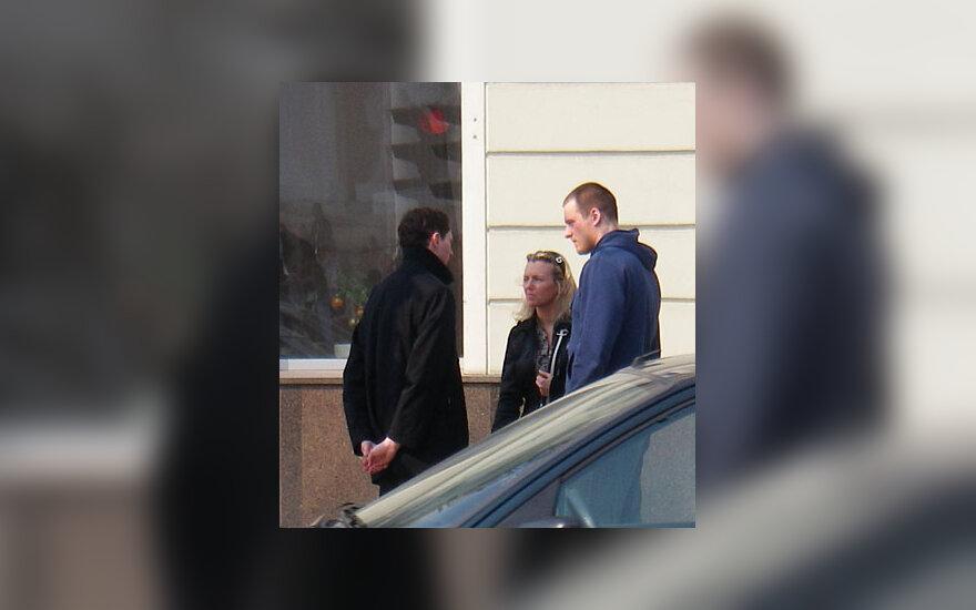 Ričardas Doveika, Violeta Riaubiškytė ir Vilius Tarasovas