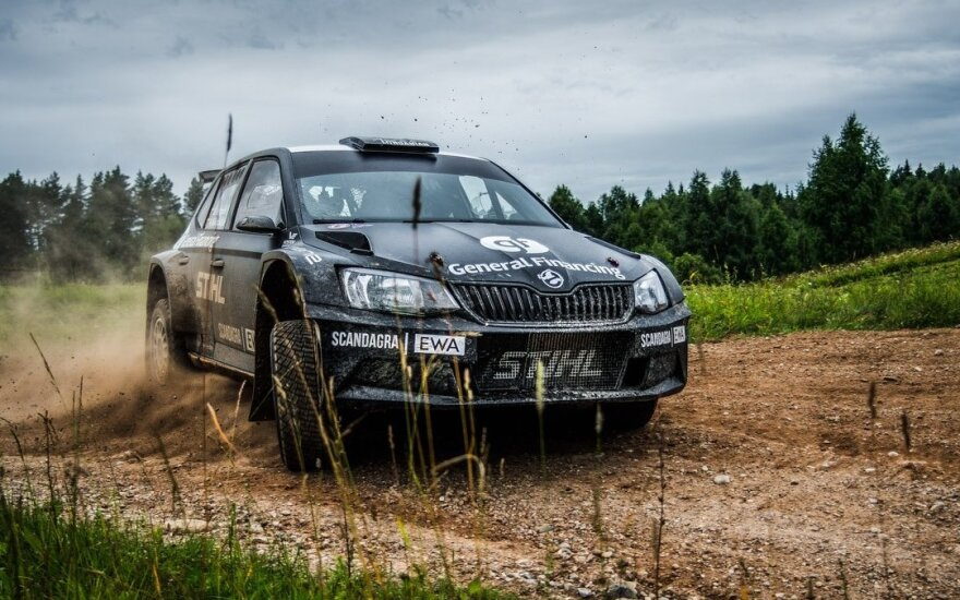 """""""Rally Latvija"""" B.Vanagas važiuos R5 klasės automobiliu, pramintu Juoduoju Vaiduokliu."""