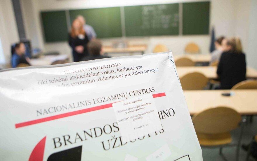 Skelbiami valstybinio anglų kalbos brandos egzamino rezultatai